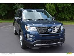 Ford Explorer Xlt - 2017 blue jeans ford explorer xlt 115230615 gtcarlot com car