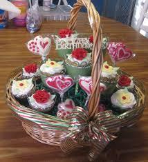 cupcake gift baskets fall cupcake basket search cupcakes