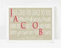 catholic baptism gifts personalized baptism gifts 8x10 print catholic baptism gifts