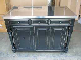 black kitchen island with stainless steel top ellajanegoeppinger com black kitchen island with stainless steel top quicuacom black kitchen island