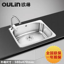Cheap Stainless Steel Sinks Kitchen by Online Get Cheap Stainless Sink Kitchen Aliexpress Com Alibaba