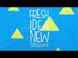 stop motion typography after effects template youtube motion