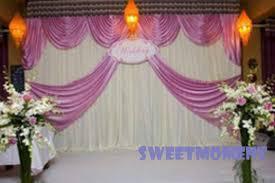 Wedding Backdrop And Stand Aliexpress Com Buy Wedding Drape U0026 Pipe For Wedding Decoration