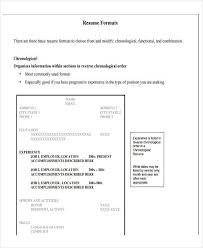 Basic Resume Format Examples by Basic Resume Format Examples Of Resumes Resume Template Free