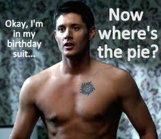 Supernatural Birthday Meme - happy birthday misha we love you supernatural pinterest