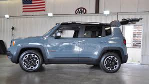jeep renegade trailhawk blue quick look 2015 jeep renegade