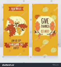 greeting cards thanksgiving day stock vector 297994967