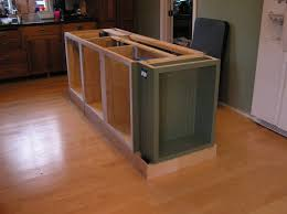 how to install kitchen island cabinets how to install a kitchen island cabinets base in 8