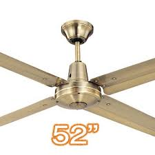 antique brass ceiling fan typhoon 52 metal brass ceiling fan 4 blade outdoor ceiling fans