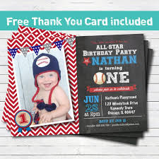 template stylish first birthday invitation cards for a baby boy