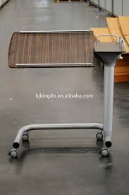 over the bed table with wheels ktactical decoration
