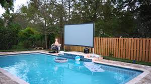 best home theater projector outdoor how to set up your own backyard theater systems