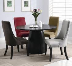 dining room large round pedestal dining table expandable round