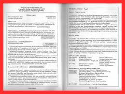 Examples Of 2 Page Resumes by 2 Page Resumes Examples Molrol Com