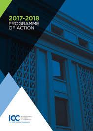 chambre de commerce international domaines d programme annuel icc
