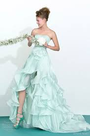 wedding dresses with color beautiful green colored wedding dresses cherry