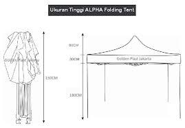 Tenda Lipat Ukuran 3x3 jual tenda cafe lipat alpha 3x3 asli 1 pabrik dgn american matic