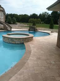 Pool Ideas For Backyard Pool Decks Pool Design Swimming Pool Builder Dayton Oh Pool