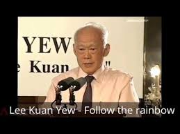 Lee Kuan Yew Meme - lee kuan yew follow the rainbow youtube