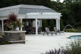 cabana pergola u0026 gazebo design nj landscape architecture