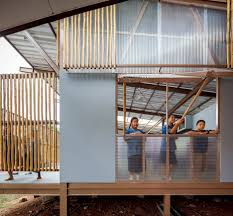 Thailand Home Design News by Jun Sekino Redesigns Earthquake Damaged In Thailand