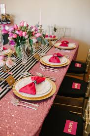 Sweet 16 Dinner Party Ideas Valentine U0027s Day Kate Spade Dinner Party Table Settings