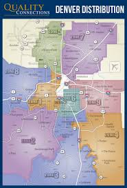 Map Of Denver Metro Area by Denver Distribution Map Qc Marketing
