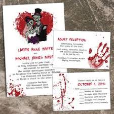 Halloween Wedding Sayings Deadly Gorgeous Wedding Invitations With A Punk Rock Edge From