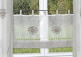 bistrogardinen küche gardinen deko gardinen küche landhaus gardinen dekoration