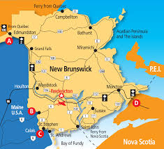 Canada On A Map Map Of Fredericton Nb Canada You Can See A Map Of Many Places On