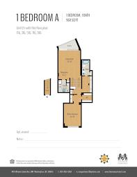 1 bed 1 bath apartment in washington dc newport west
