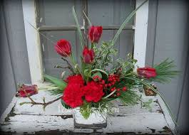 christmas table flower arrangement ideas holiday christmas table centerpieces