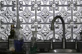 metal kitchen backsplash metal backsplash ideas hgtv