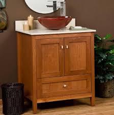 Rustic Bathroom Vanities For Vessel Sinks Lowes Bathroom Vanity With Vessel Sink Home Design Ideas
