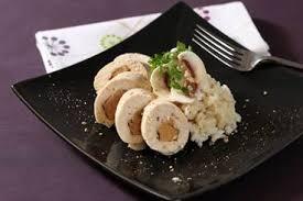 cuisiner des blancs de poulet moelleux recette de moelleux de volaille farci au foie gras risotto au