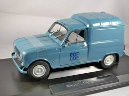renault 4 renault 4 fourgonnette edf gdf 1 18 scale model norev