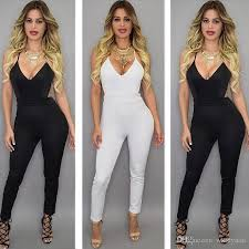 womens rompers and jumpsuits 2017 arrive jumpsuits v neck fashion