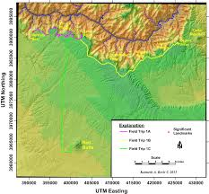Grand Canyon National Park Map 1 Field Guide To The South Rim Grand Canyon National Park U2013 In