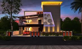 modern home design 2014 of 3d front elevation com 1 kanal corner