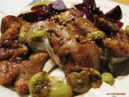 cuisiner le foie de lotte foie de lotte au vinaigre balsamique et raisins blancs recette