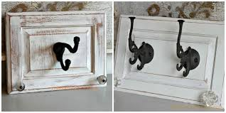 Repurpose Cabinet Doors Repurpose Cabinet Doors To Coat Hooks Hometalk