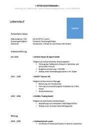 Cv Vorlage Schweiz Word Lebenslauf Vorlage Muster Und Vorlagen