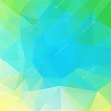 Muster Blau Grün Muster Vektor Polygon Dreiecke Hintergrund In Blau Gr禺n T禧ne