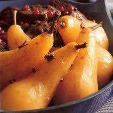 cuisiner des airelles recette alsace sanglier aux airelles et poires pochées