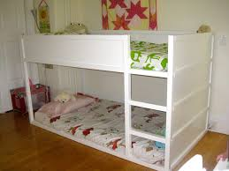Crib Bunk Bed Exlary Low Loft Bed W Study Desk Low Bunk Beds Image Low