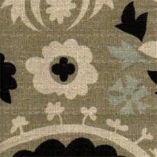 Denton Upholstery Suzani Stone Denton By Premier Prints Drapery Fabric 11133