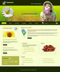 web pages templates for agricultural company