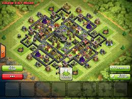 image clash of clans xbow th9 anti hog unlureable clan castle