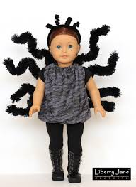 doll halloween costume halloween costume 18 inch doll clothes pattern pdf download