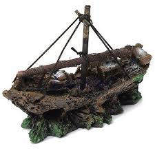 compare prices on aquarium shipwreck ornament shopping buy